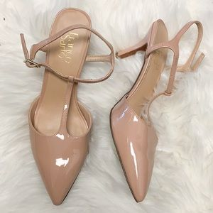 Franco sarto patent heels